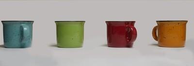 Lotus Mug  520ML Assorted Colors