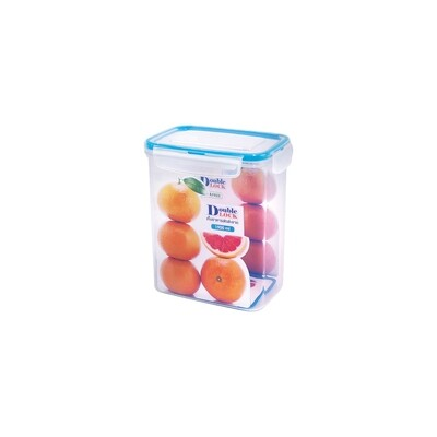 Double Lock Rectangular Tall Container 1900ML
