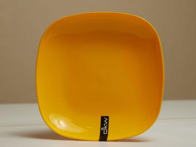 DKW Basics Square Bowl Yellow HH-661