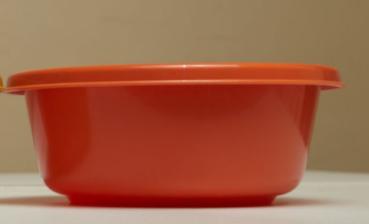 Orange Click Round Bowl 24CM