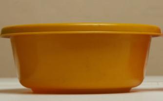 Mustard  Click Round Bowl 20CM