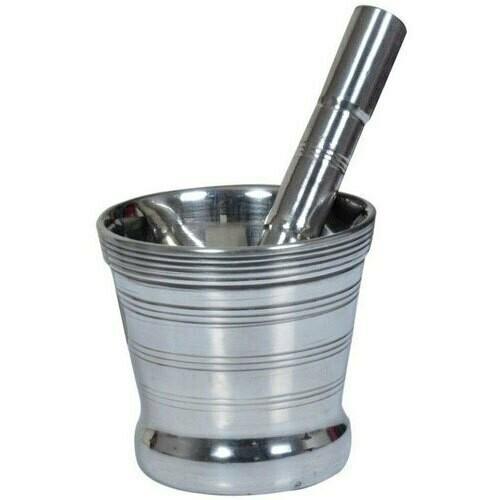 Stainless Steel Mortar and Pestle Set medium