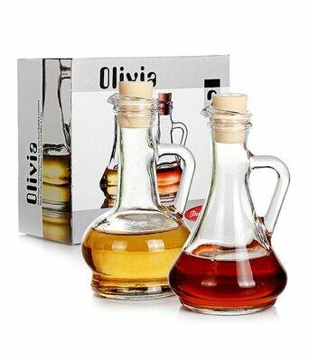 2 piece Pasabahce  Oil-vinegar Jar-Olivia 260cc
