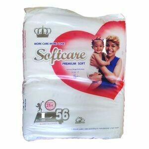 Softcare Premium Diaper Large 56 Pieces