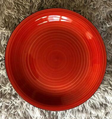 set of 4 spiral Coloured Ceramic 10