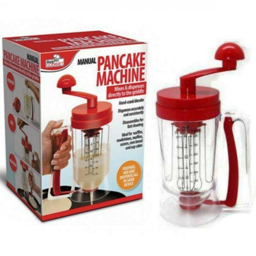 Manual Pancake Machine-Prepare, Mix, Dispense