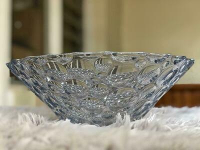 Glass Fruit Platter/Bowl Small