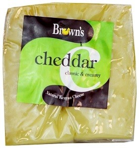Brown's Cheddar Cheese Classic & Creamy 225 g