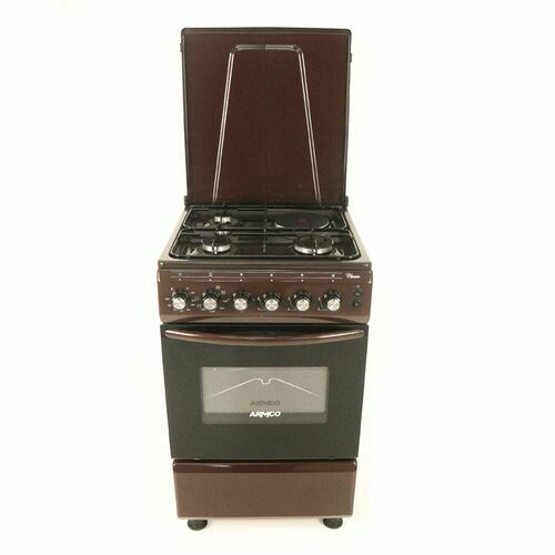 Armco GC-F5531FX(BR) - 3Gas, 1 Electric (RAPID), 50x50 Gas Cooker