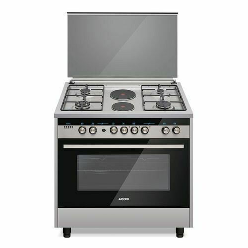 Armco GC-F9642PLW(SS) 4 Gas, 2 Electric (RAPID), 60x90 Gas Cooker