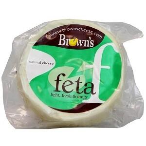 Brown's Feta Cheese Light Fresh & Tangy 200 g
