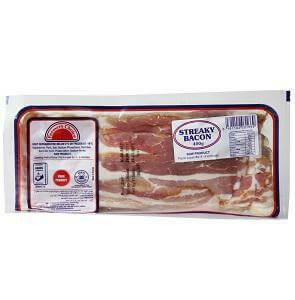 FCL Streaky Bacon 400G