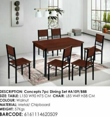 Ankos New concepts dinning table set 7 pcs