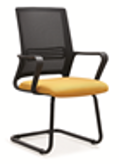 ANKO NEW CONCEPT MESH VISITOR CHAIR BLK #MG288C