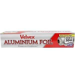 Velvex Catering Aluminium Foil 45 cm x 30 m