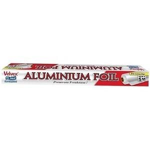 Velvex Aluminium Foil 45 cm x 5 m