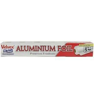 Velvex Aluminium Foil 30 cm x 5 m