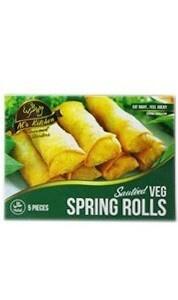 Al's Kitchen Vegetable Spring Rolls 5 Pieces