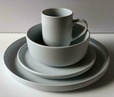 Ceramic dinner set 16 piece with 4bowls,4sideplates, 4mugs, 4dinner plates-k25