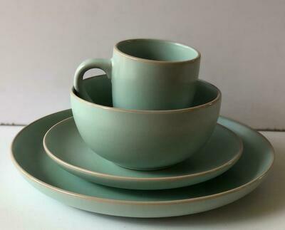 Ceramic dinner set 16 piece with 4bowls,4sideplates, 4mugs, 4dinner plate- k31