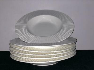 Ceramic Dinner plate 6 piece set 10