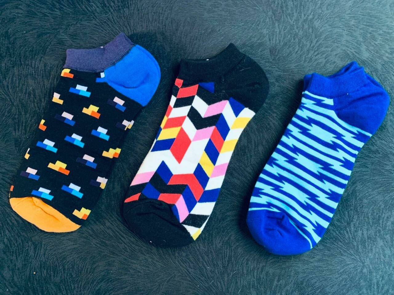 Happy Ankle socks 3 pairs