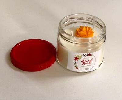 Fleopatra scented candle apricot & peach