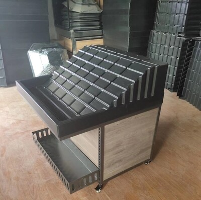 Supermarket Display Shelves Stand Rack for Your Selection 72x72x25cm