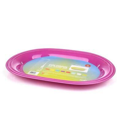 Mintra oval plastic serving tray 40cmx 29cm ref 5302
