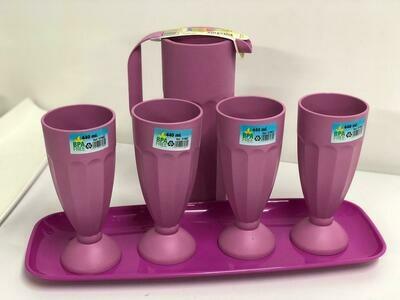 Mintra lemonade juice water party set Jug Tumbler and tray