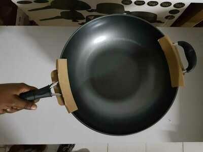 Huli Chinese Wok pan size 32cm