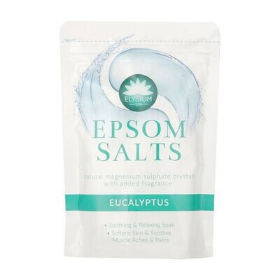 Elysium spa Epson salts Eucalyptus Natural magnesium sulphate crystal 450g