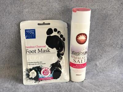 Bath Pack- Himalayan Salt Bath and shower Gel PLUS Unicorn Bath Dust