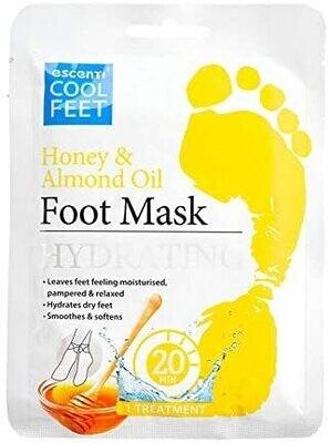Escenti Cool Feet Mask Honey & Almond oil