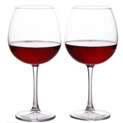 Pasabahce  stem Wine Glasses Set of 2  440ml #44728