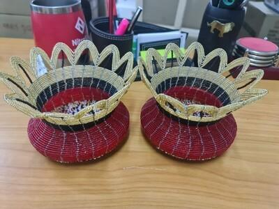 Maasai beads centre piece