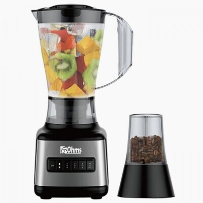 OHMS OBP-K600G 2 in 1 BLENDER WITH MILL