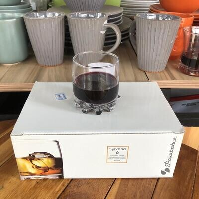 pasabahce Sylvana Whiskey Glass # 42414 6pc set