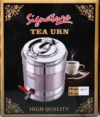 Signature non electeic tea urn 15L