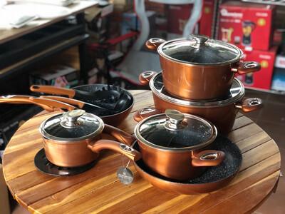 Edenberg 15 Pc Non Stick Cookware Set EB-5618