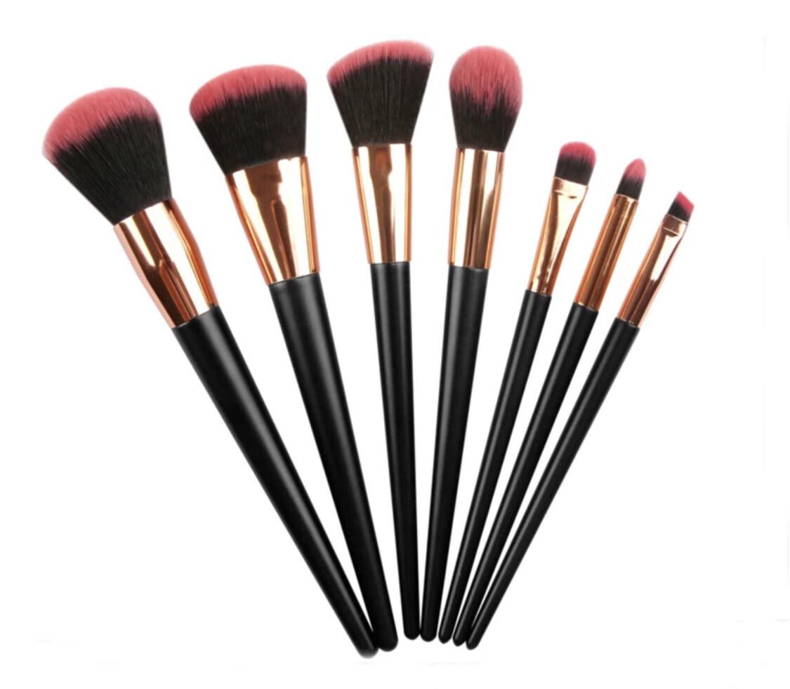 Professional 7pc Make Up Brush Makeup Set