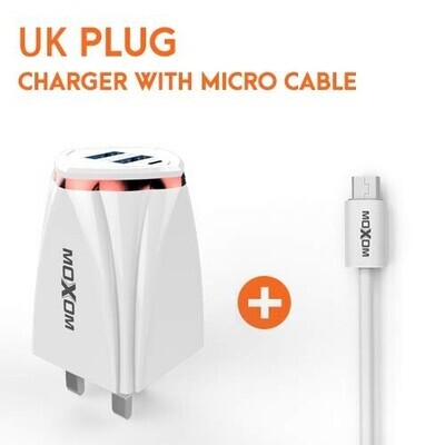 MOXOM MX-KH37 Charger iPhone, Android, Type-C