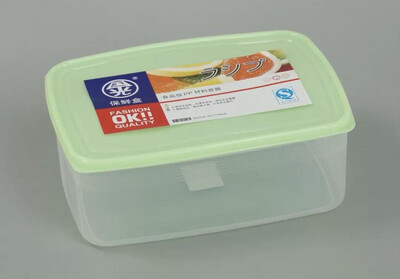 Coloured Plastic Food Containers 2.5L