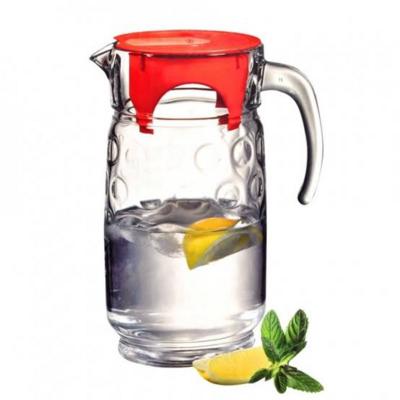Pasabahce Rings Water Jug Glass #43794 1.7L