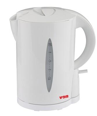 Von VSKL17BVW 1.7L Cordless Kettle 2200W - White
