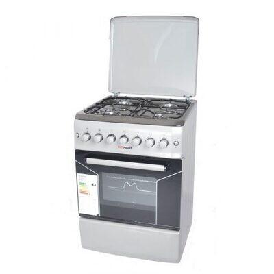 Von Hotpoint F5N40G2.P.S/ F5S40G2.S/ VAC5F240RS 4 Gas Cooker - Silver