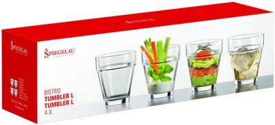 Spiegelau Glass Tumbler 320ml Set Of 4