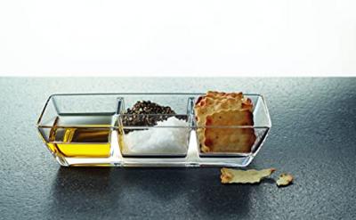 Nachtmann Aperitivo Kabarett Glass Tray 25cm