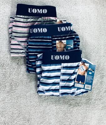 Uomo Men's Boxers Underwear XL 3pack
