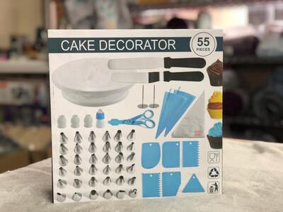 Cake Decorator 55pc